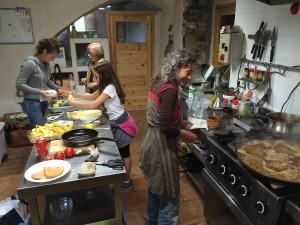 A la cuina!